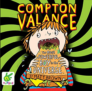 Actor Jamie Parker narrates the audiobook of Compton Valance: The Most Powerful Boy In The Universe by Matt Brown