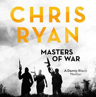 Actor Jamie Parker narrates the audiobook of Masters of War by Chris Ryan