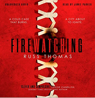 Actor Jamie Parker narrates the audiobook for Firewatching by Russ Thomas