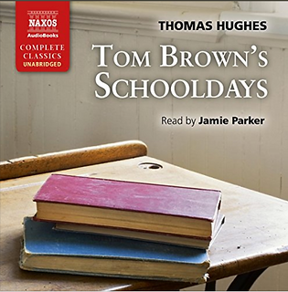 Actor Jamie Parker narrates the audiobook for Tom Brown's Schooldays by Thomas Hughes