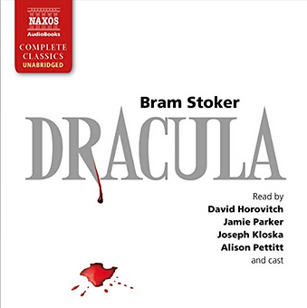Actor Jamie Parker narrates audiobook of Dracula by Bram Stoker