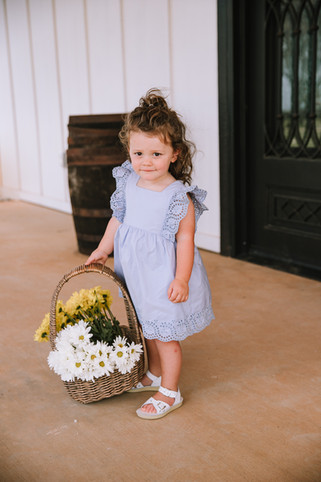 Maddy with Flowers