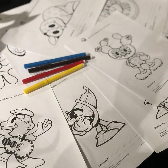 All designMalta-cartoon-character-illust