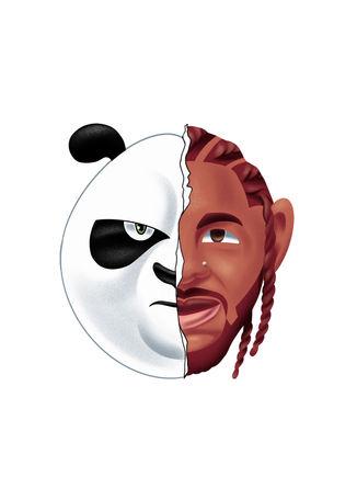 KungFu-Panda-Kenrick-Lamar-cartoon-hipho