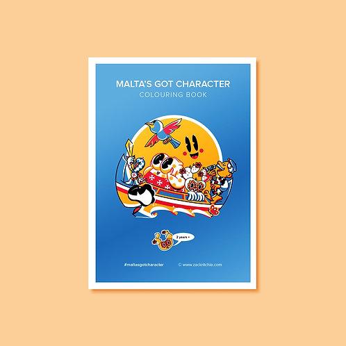 MGC Colouring Book - 18pg