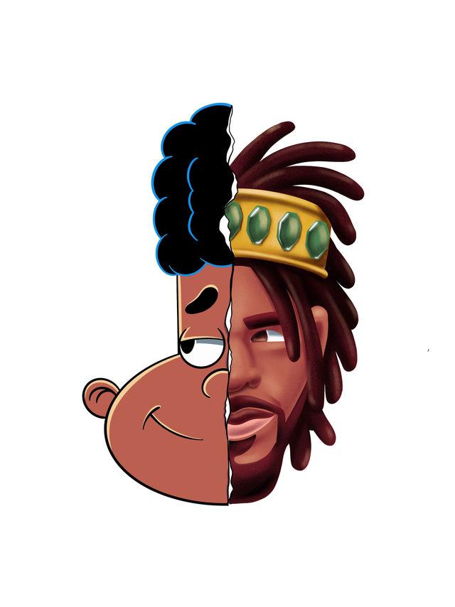 Gerald-J.cole-cartoon-hiphop-illustratio