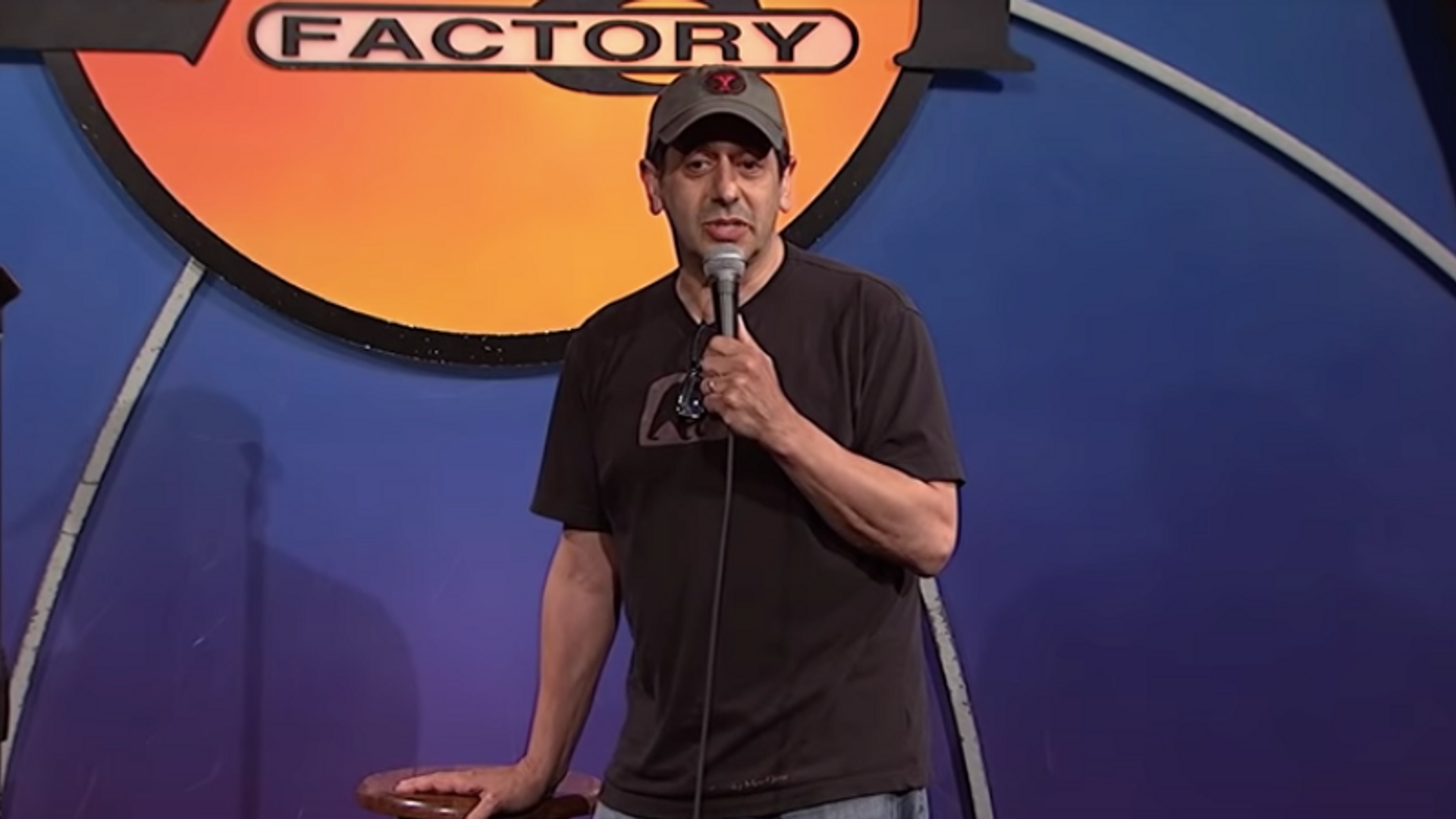 Jeff at The Laugh Factory   2014