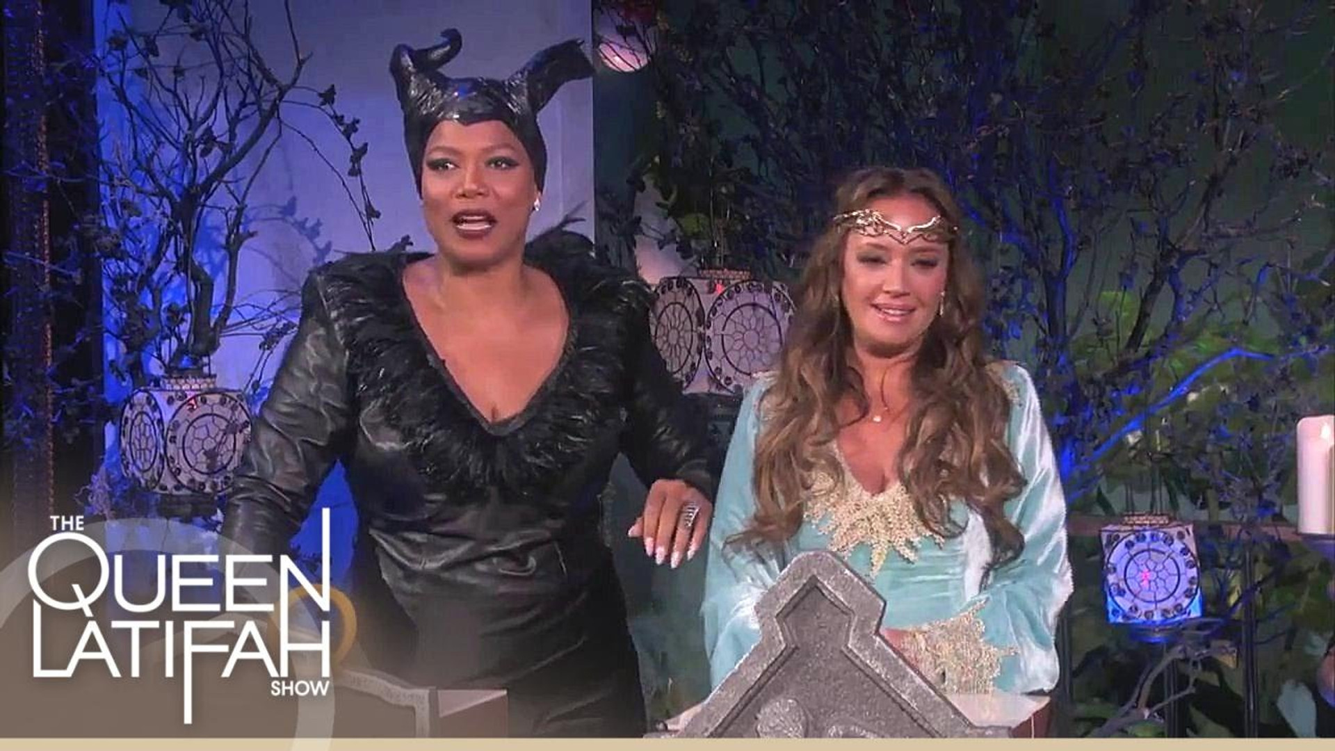 The Grim Reaper on The Queen Latifah Show   2014