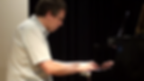 Piano student Plays his own compositions, summer recital 2017