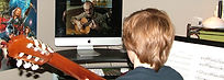 Ontario online classical guitar lessons , RCM examenations .