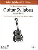 Guitar syllabus 2011 edition