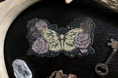 Lace Border Moth sticker