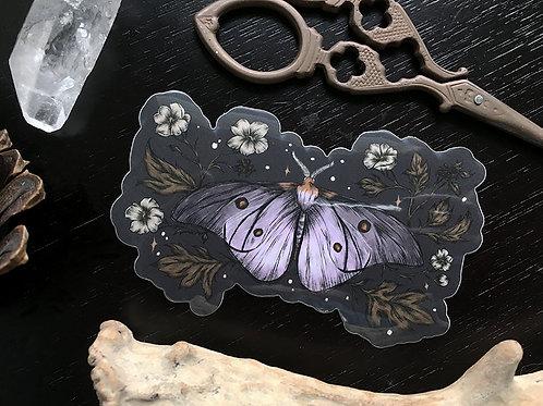 Ghostly Silkmoth sticker