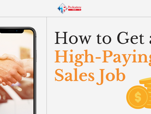5 Tips to Get a High-Paying Sales Job