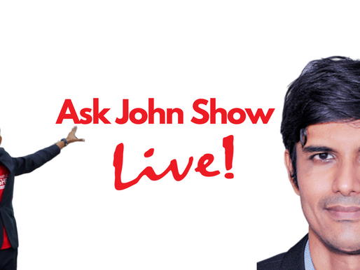 Ask John Show Live: where You Find your Motivation