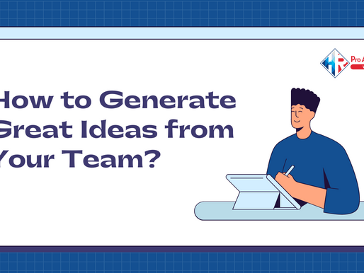 How to Generate Great Ideas from Your Team?
