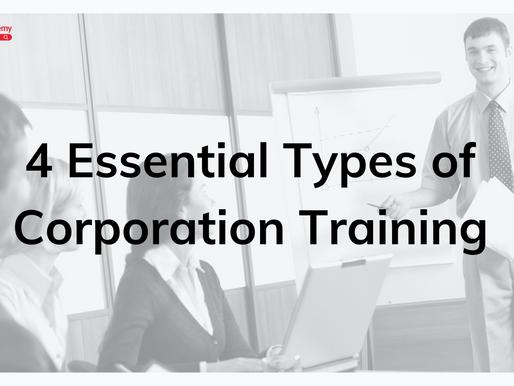 4 Essential Types of Corporation Training
