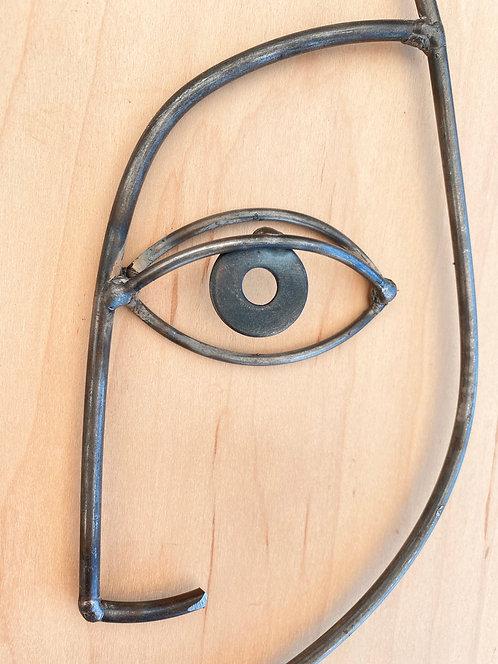 Black Washer Eye Drop