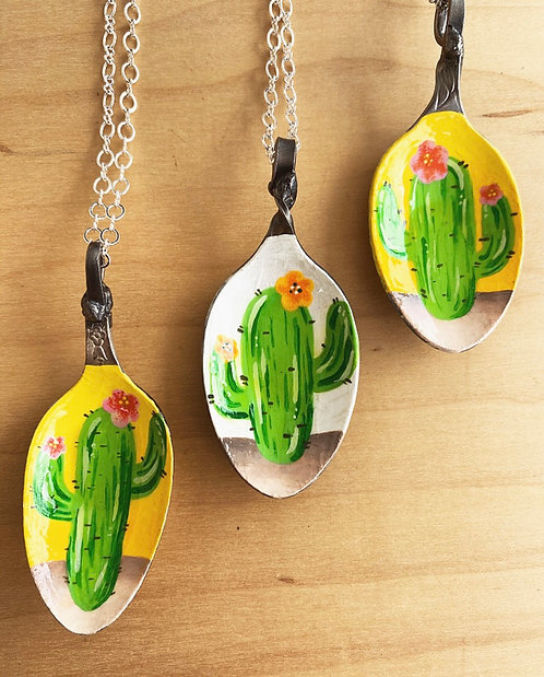 Cacti Spoons