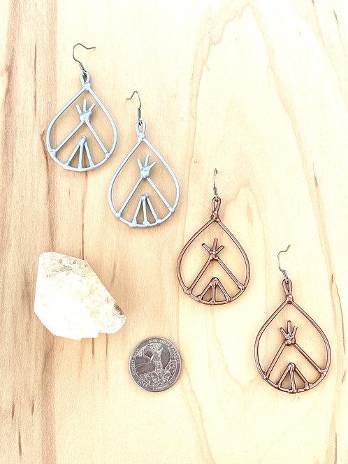 Tipi Earrings