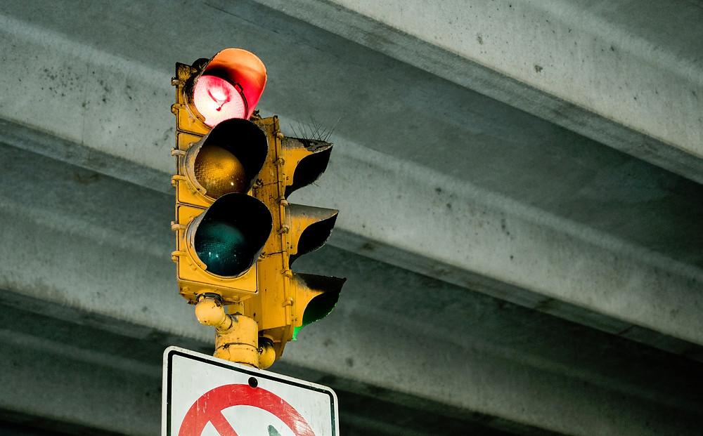 signal, stoplight, stock market