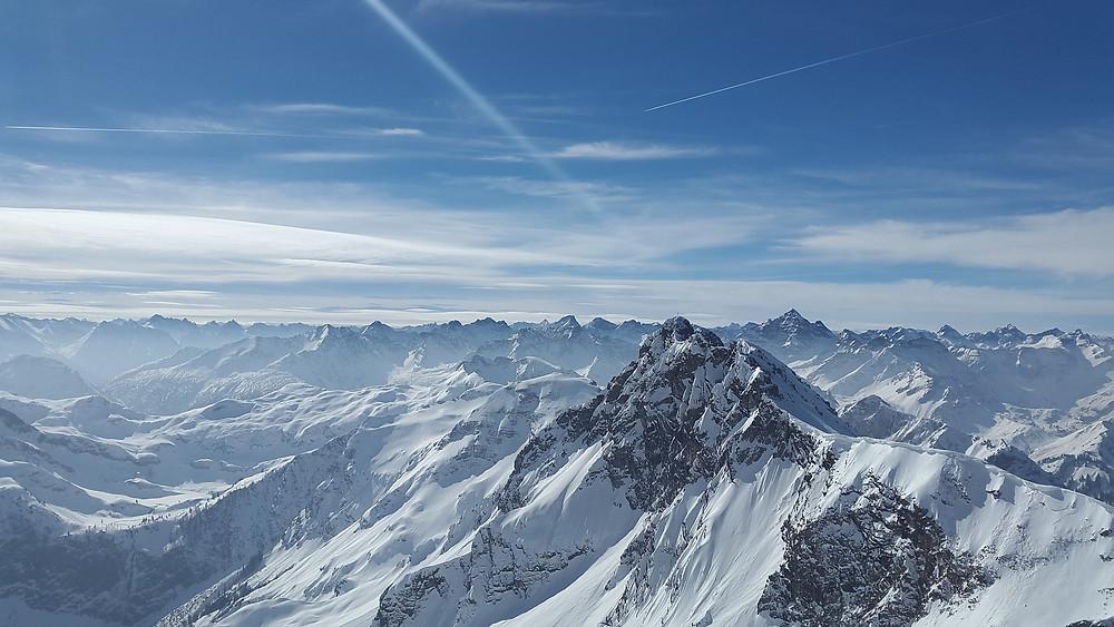mountains, peaks, rough horn summit