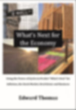 """BookCover for """"What's Next for the Economy"""""""
