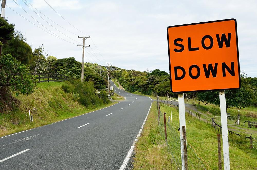 slowdown, economy slowing