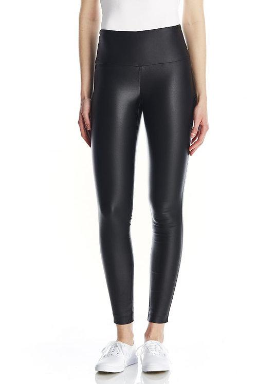 Black Waxed Pant