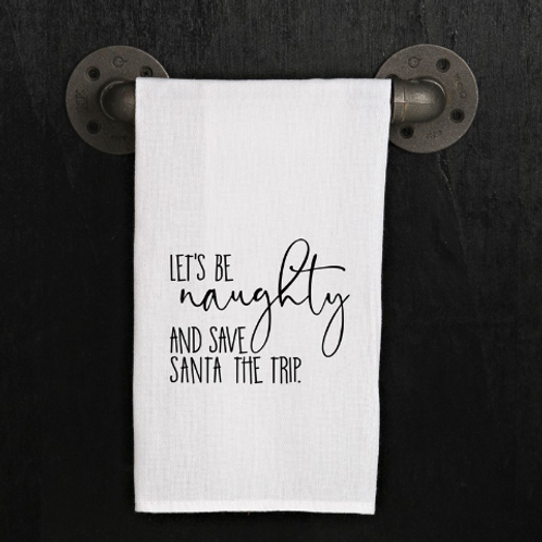 Hand Towel - Let's Be Naughty