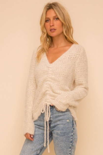 Crinched Sweater