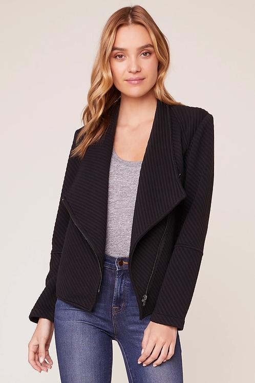 Knit Black Jacket