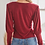 Thumbnail: Ruched Wine Top