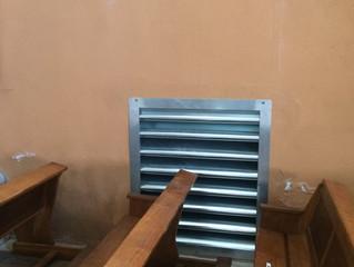 Saint Pierre d'Entremont (Savoie), Eglise, Remplacement du système de chauffage...suite et fin.