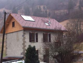 """Commune de St Pierre d'Entremont (Savoie), Réception de chantier """"Rénovation de Toiture du"""