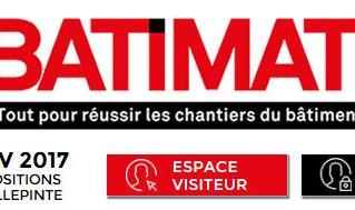 PARIS BATIMAT 2017, Ener'Bat était présent !