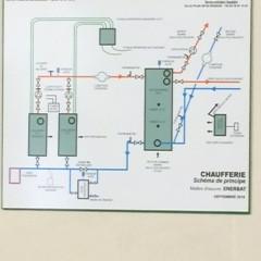 St Hélène-du-Lac (Savoie), La commune vient de réceptionner les travaux du réseau de chaleur bois
