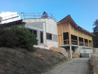Saint-Martin-en-Haut, Village vacances L'Orée du bois, reprise du chantier !