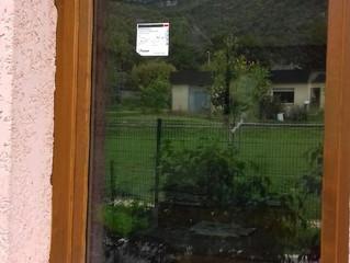 Commune de Cruet, Rénovation thermique de l'école : Remplacement des menuiseries vitrées