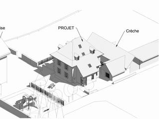 Commune de Saint Pierre de Chartreuse, Projet de réaménagement de l'ancienne cure par l'asso