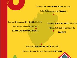 Matinées Conseil rénovation : Myans (73) - St Laurent du Pont (38) - Meylan (38) - Touvet (38)