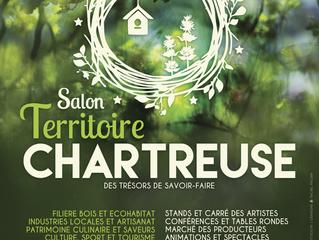 Information ! Salon Territoire Chartreuse du 23 au 25 mai 2019 à St Laurent-du-Pont (38)