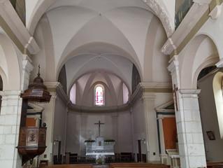 Saint Pierre d'Entremont (73), Remplacement du système de chauffage de l'Eglise, suite...