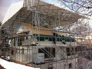 """Commune de St Pierre d'Entremont (Isère), Projet """"Aménagement d'un comble et rénovation"""