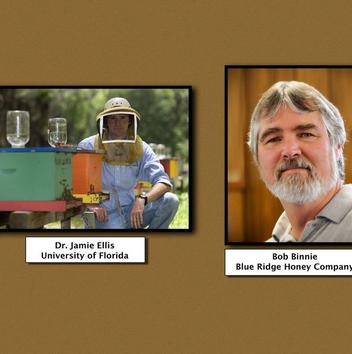3rd Annual Cabarrus County Beekeepers Present: Dr. Jamie Ellis and Bob Binnie