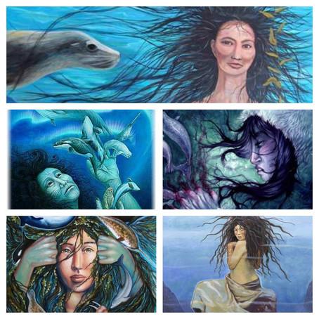 Inuit legend about Sedna