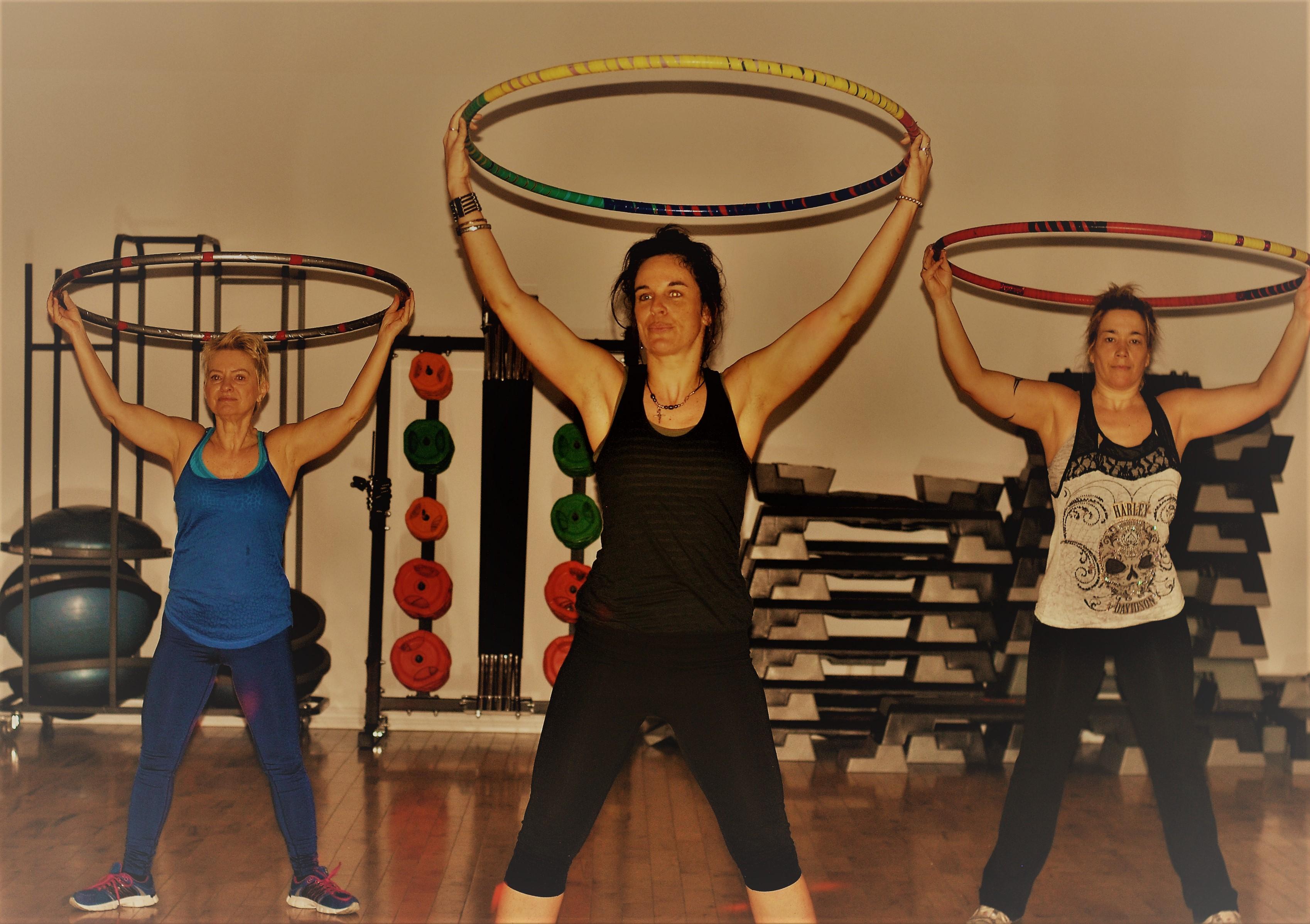 Hula-hoops fitness