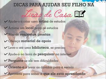 Como ajudar seu filho na tarefa escolar? | Clínica Luria
