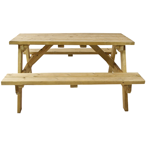 Picnic Bench with Table Teak