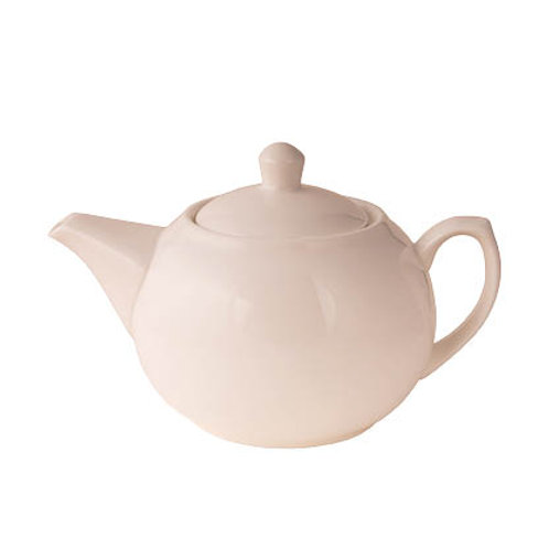 Plain Ball Shaped Tea Pot (1Litre - 35oz)